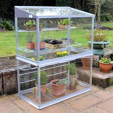Palram Polycarbonate Greenhouse Palram 4 X 4ft Plant Inn Garden Bed Mini Greenhouse Clear