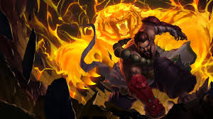 spirit guard udyr tiger lol wallpapers