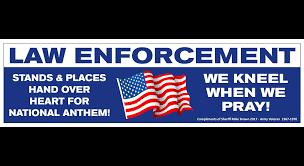 Va Flag After Aclu Warning Va Sheriff Won U0027t Put Religious Stickers On
