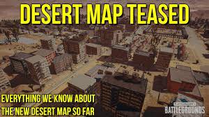 pubg new map release date new desert map teased again pubg news youtube