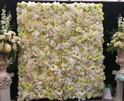 for hire flower wall hire cheap perth white u0026 green wall