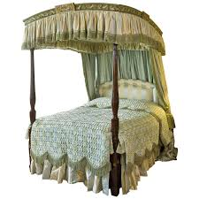 Poster Bed by George Iii Period Mahogany And Painted Four Poster Bed For Sale At