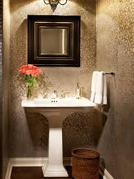 Bathroom Decor Ideas Pictures Top 25 Best Small Bathroom Wallpaper Ideas On Pinterest Half