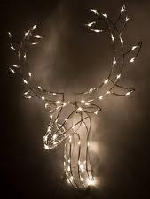 reindeer indoor christmas lights ebay