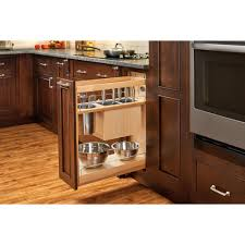 Kitchen Pull Out Cabinet by Rev A Shelf 25 5 In H X 8 In W X 21 56 In D Pull Out Wood Base