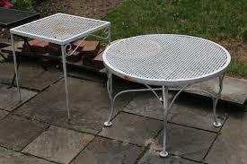 vintage wrought iron patio furniture salterini tempestini woodard