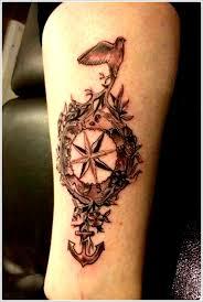 black compass tattoo design of tattoosdesign of tattoos
