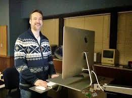 ergotron has apple standing desks your tech weblog