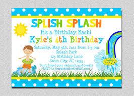 5th birthday party invitation birthday invitations boys birthday party invites invite card
