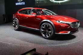 mazdas 2016 mazda u0027s koeru concept is a sleek looking crossover w video