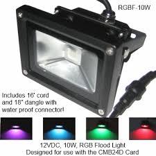 light o rama rgb flood 10 watts