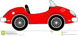 cartoon race car red convertible car cartoon illustration 32074087 megapixl