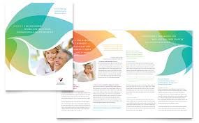 volunteer brochure template marriage counseling brochure template word publisher