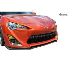 frs with lexus front end scion frs 2013 2015 v2 style 1 piece polyurethane front lip