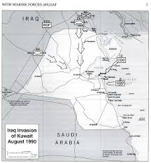 kuwait on a map nationmaster maps of kuwait 12 in total