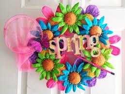 little miss suzy q spring wreath