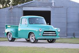 dodge truck a 1955 dodge bought for work and rebuilt as a s tribute
