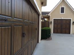 House Doors Garage Door Faux Hardware