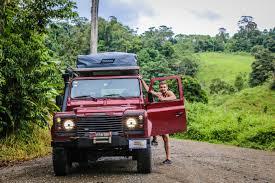 green land rover defender land rover defender 110 nomad america 4x4 car rental costa rica