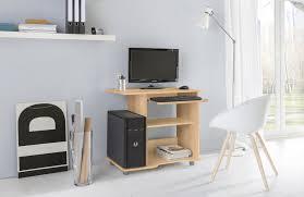 Schreibtisch 90 Breit Pc Schreibtisch Tom 80 Cm Breite Buche Wohnen Office