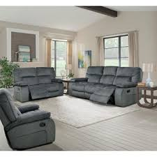 Triple Recliner Sofa by Parker Living Chapman Casual Triple Reclining Sofa With Pillow