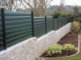 jardin cloture 3 idées pour remplacer sa clôture de jardin par une clôture
