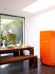 orange retro 50 u0027s style minibar cooler from smeg just what we