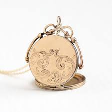Monogramed Jewelry Shop Monogram Locket Necklace On Wanelo