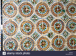 Moorish Design by Moorish Patterns On Tiles In Alcazar Former Moorish Fortress In