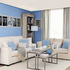 blue and white living room decorating ideas blue room color