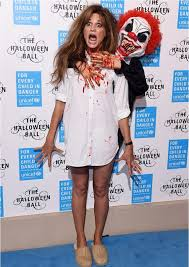 10 Scariest Halloween Costumes Celebs Scary Good Halloween Costumes