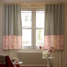 how long should curtains be for short windows curtain