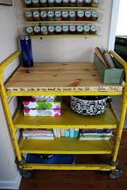 12 cool and practical diy butcher block crafts shelterness diy industrial butcher block kitchen cart or island via blog confessionsofanewoldhomeowner com