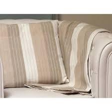 plaid coton pour canapé jeté de canapé en coton jacquard 140x180 cm par soleil d