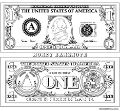 download dollar coloring page ziho coloring