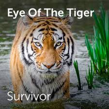 survivor eye of the tiger sheet for choirs and a capella