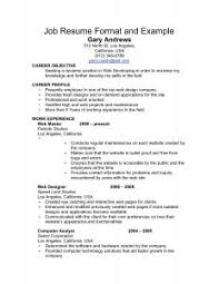 Job Qualifications Resume by Examples Of Resumes Skill Resume Sample How To Write A Senior