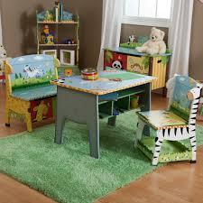 fantasy fields sunny safari desk chair u0026 bench set hayneedle