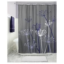 Dark Purple Shower Curtain Thistle Shower Curtain Interdesign Target