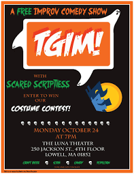 tgim with scared scriptless halloween party u2022 mill no 5