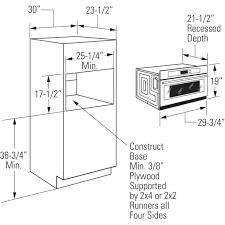 wall oven cabinet width standard cabinet width for microwave www stkittsvilla com