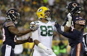 chicago bears and green bay packers are actually evenly