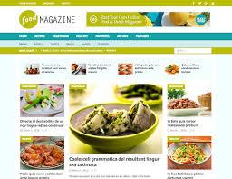 25 best food blog wordpress themes 2017