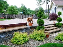 Gardens With Rocks by Front Yard Landscaping With Rocks Design Gardens Hanging Bench
