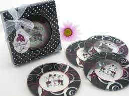 coaster favors wedding favors bridal shower gifts personalized wedding favors