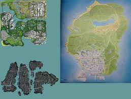 Gta 5 Map Gta V Map Finally Revealed Spoilers Page 2 Ign Boards