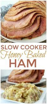 cooker honey baked ham recipe honey bake ham honey baked