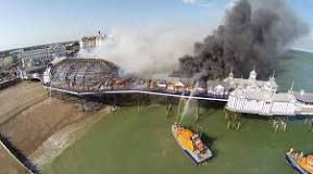 Image result for date of eastbourne pier fire