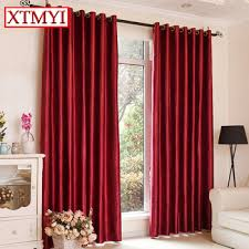 Red Blackout Blind Aliexpress Com Buy Blackout Curtains For Living Room Japan Style