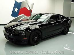 2013 Ford Mustang Gt Black Find Used 2013 Ford Mustang Gt 5 0 6 Speed Spoiler 19